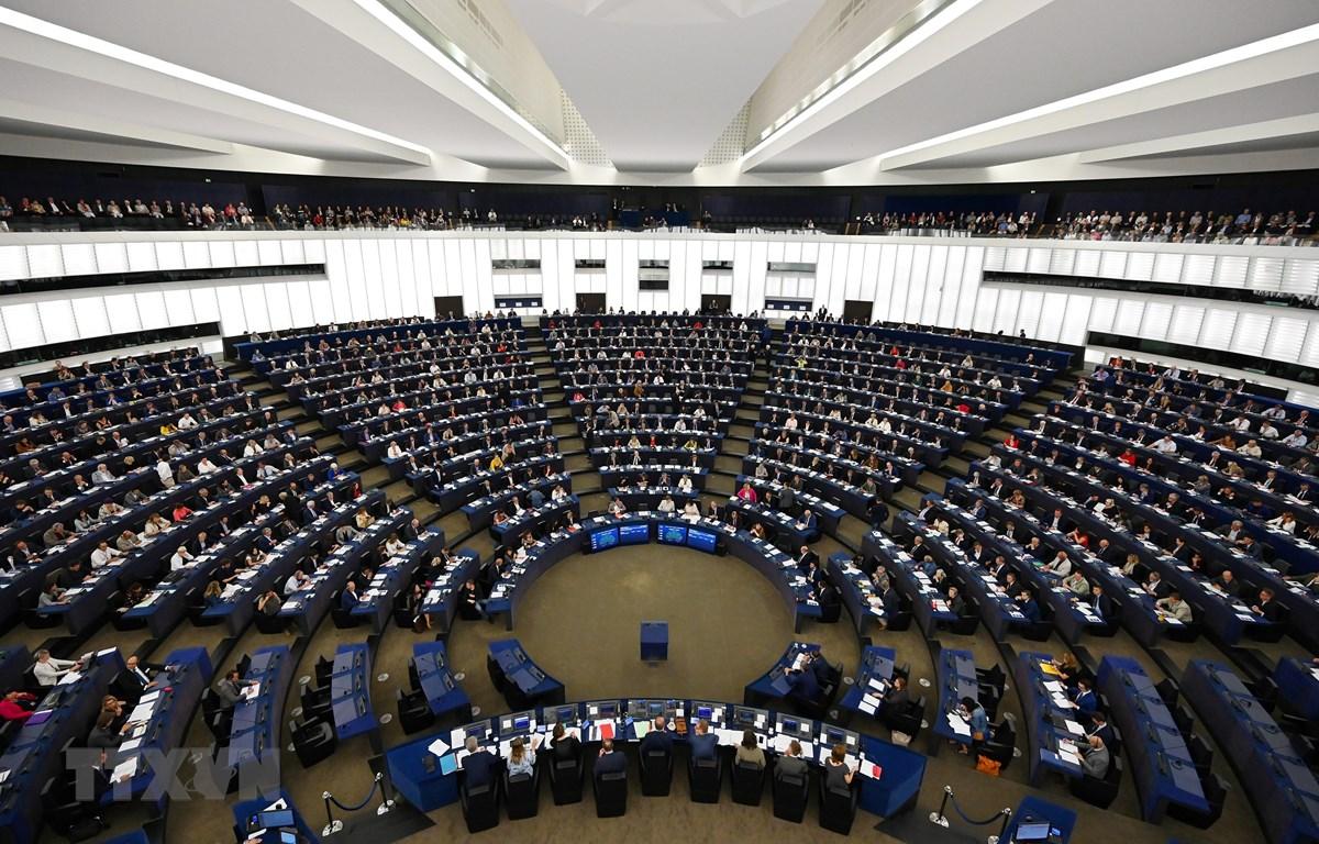 Toàn cảnh phiên họp Nghị viện châu Âu (EP) tại Strasbourg, miền đông nước Pháp, ngày 17/9/2019. (Ảnh: AFP/ TTXVN)