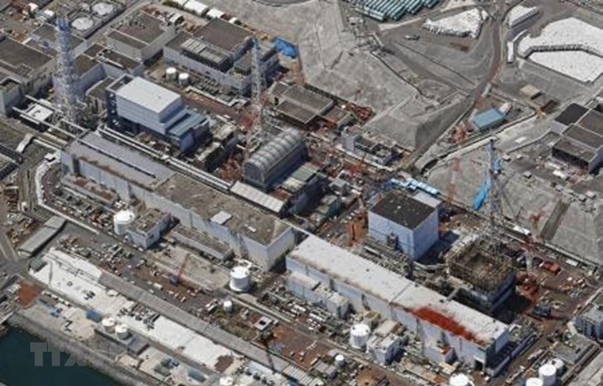 Nhà máy điện hạt nhân Fukushima Daiichi ở Đông Bắc Nhật Bản ngày 23/4/2019. (Ảnh: Kyodo/TTXVN)