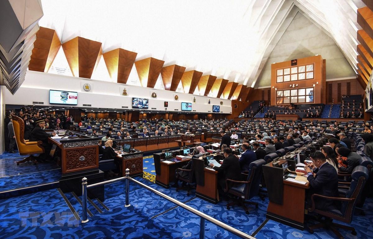Toàn cảnh một phiên họp Quốc hội Malaysia. (Ảnh: AFP/TTXVN)