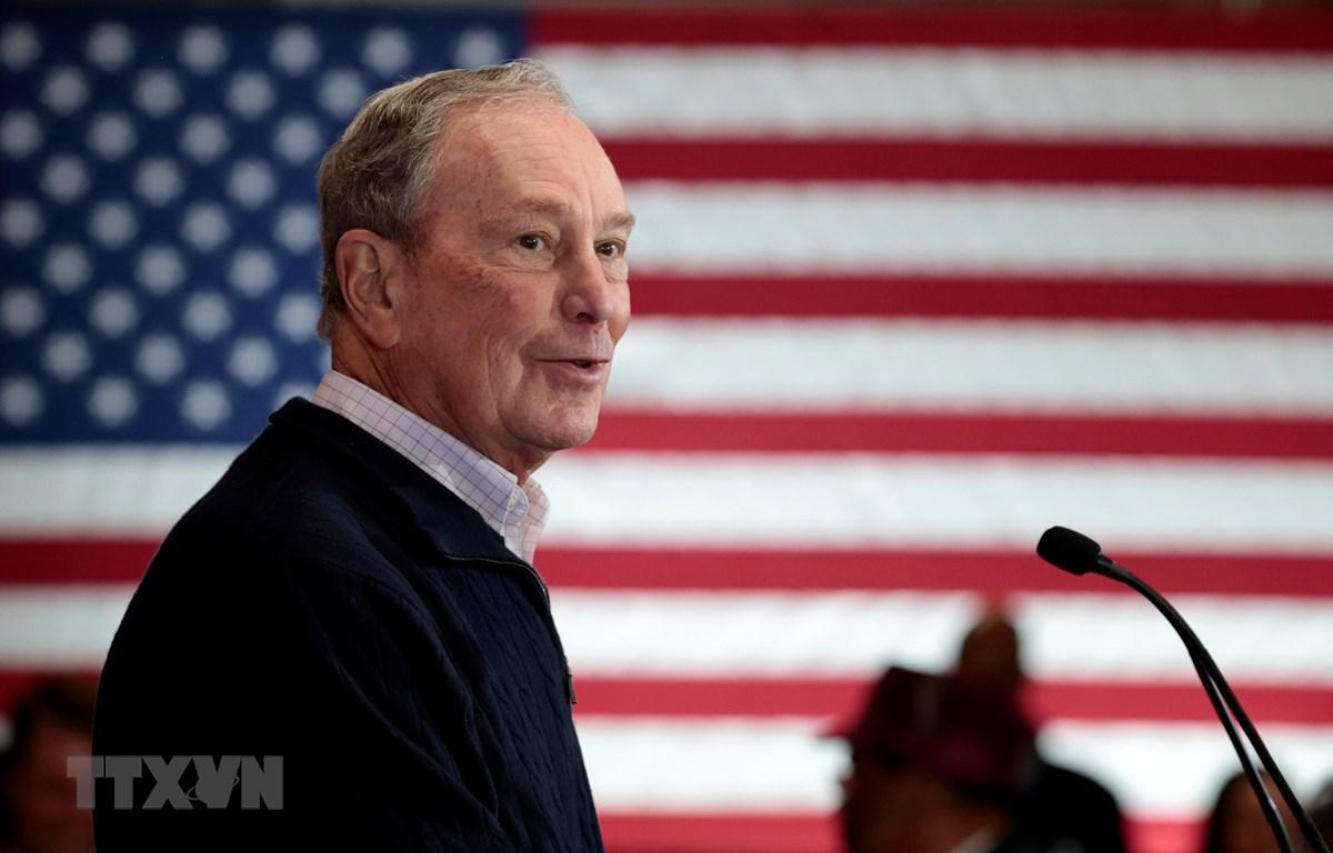 Tỷ phú Michael Bloomberg. (Ảnh: AFP/TTXVN)