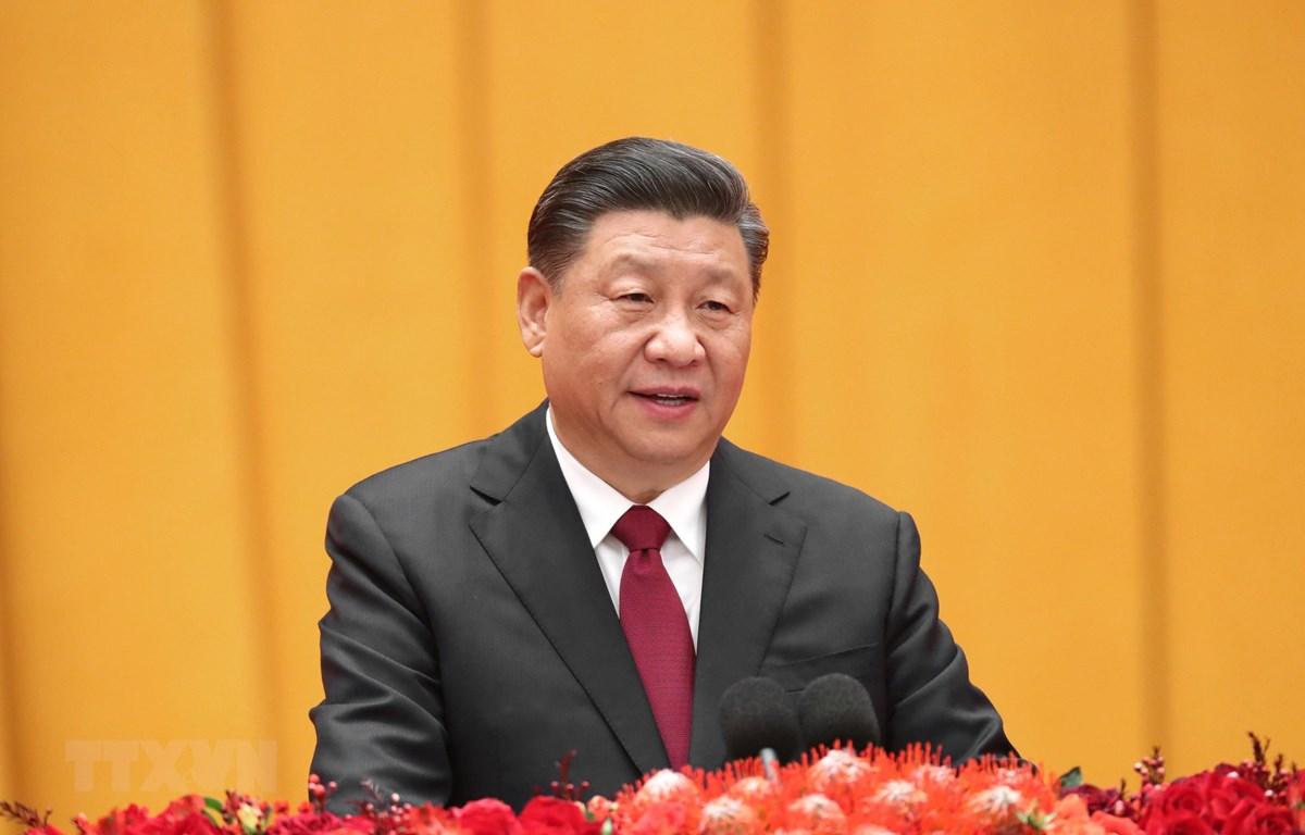 Chủ tịch Trung Quốc Tập Cận Bình sẽ tham dự Hội nghị thượng đỉnh G20 trực tuyến. (Ảnh: THX/TTXVN)
