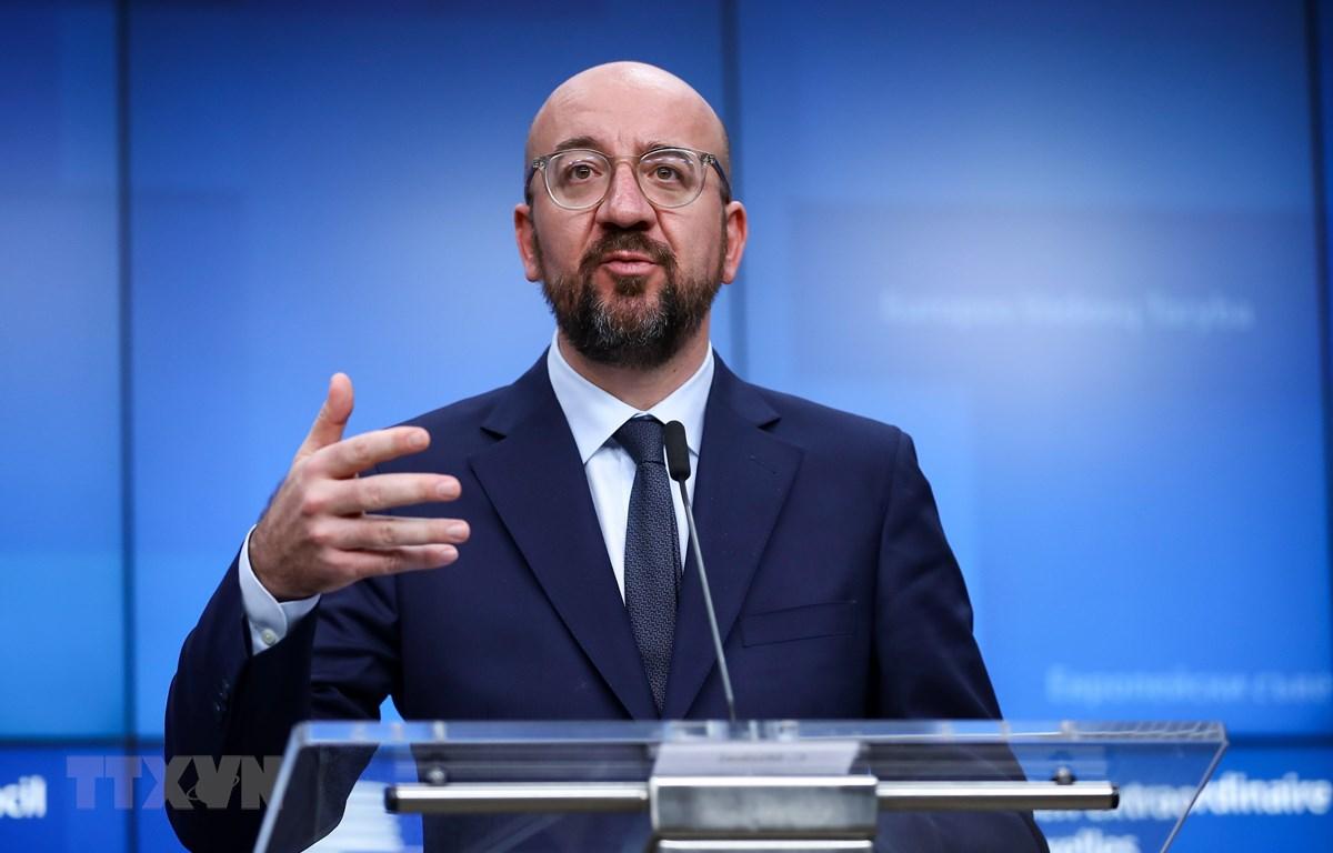 Chủ tịch Ủy ban châu Âu Charles Michel. (Ảnh: THX/TTXVN)