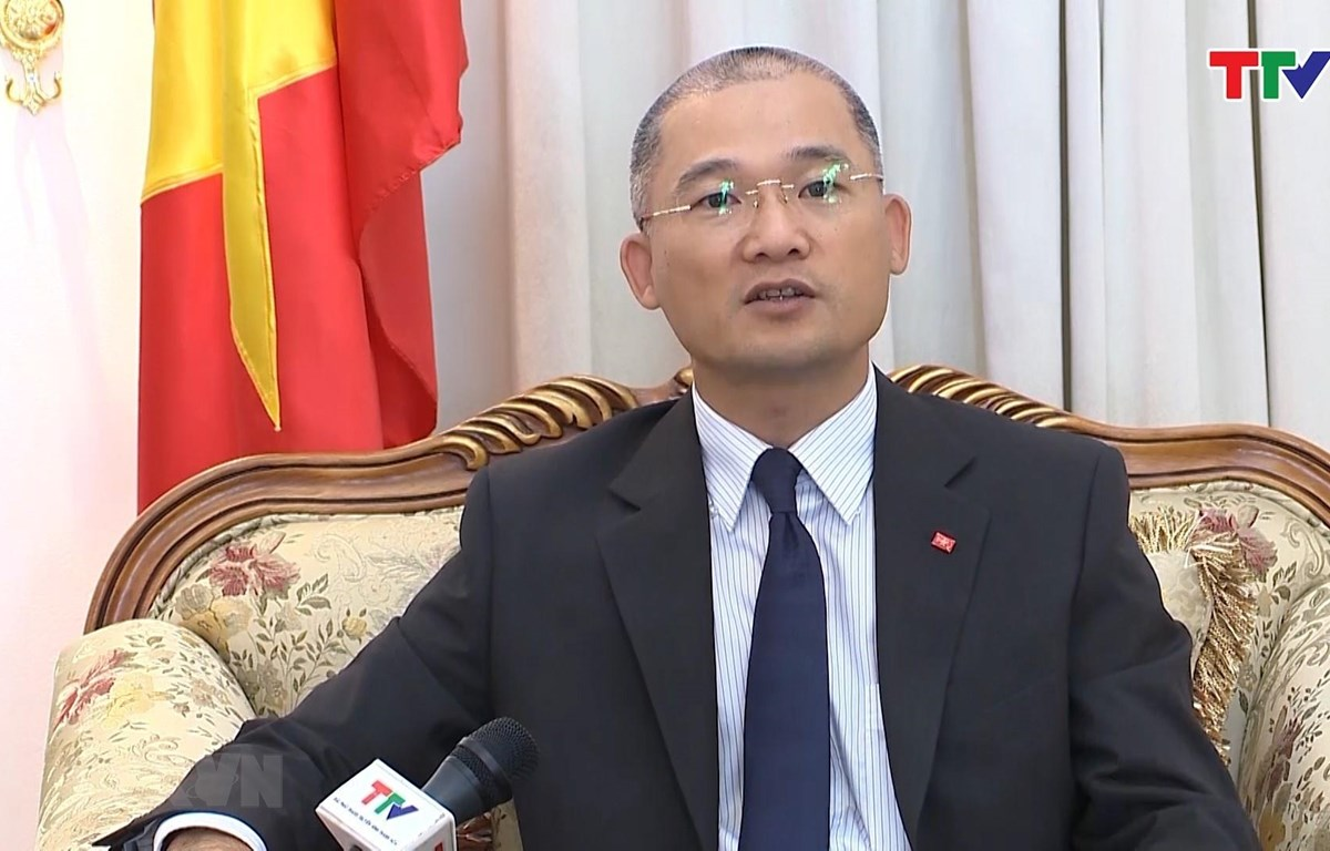 Đại sứ Việt Nam tại Kuwait Trịnh Minh Mạnh. (Ảnh: TTXVN)