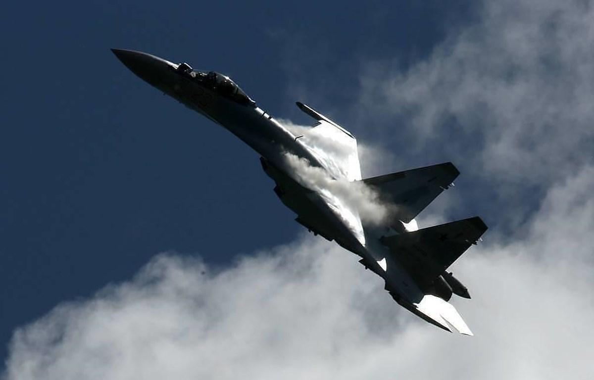 Máy bay chiến đấu thế hệ mới Su-35 của Nga.(Nguồn: TASS)