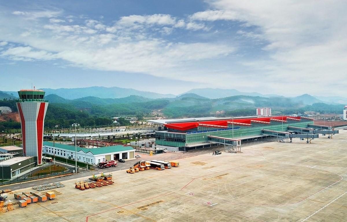 Cảng Hàng không quốc tế Vân Đồn. (Ảnh: TTXVN phát)