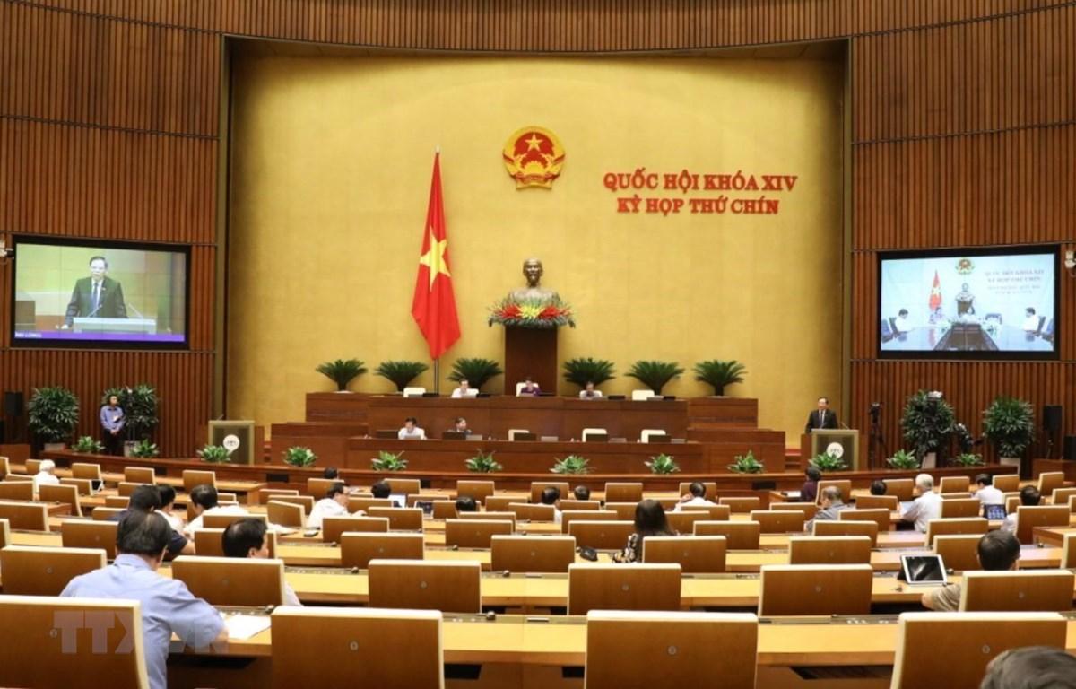 Bộ trưởng Bộ Nông nghiệp và Phát triển nông thôn Nguyễn Xuân Cường phát biểu. (Ảnh: Văn Điệp/TTXVN)