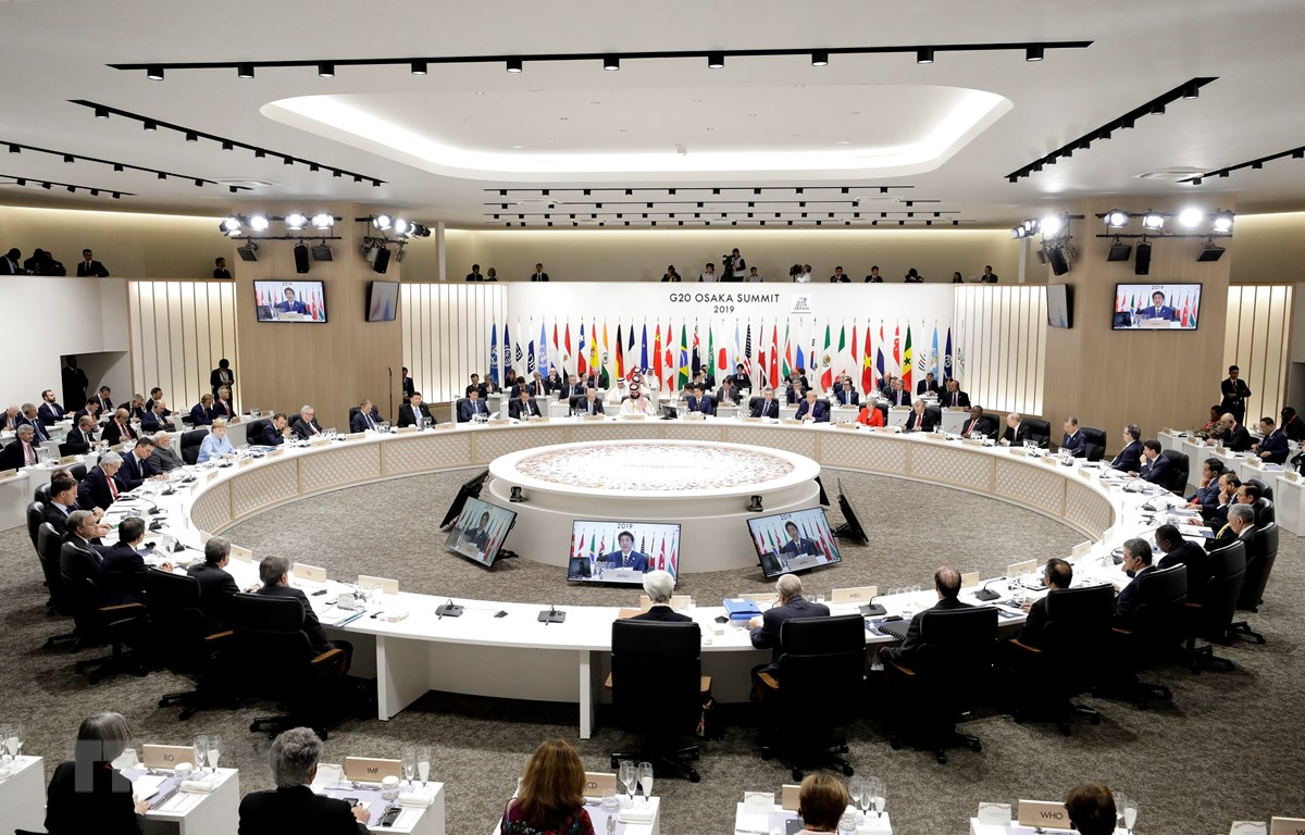 Toàn cảnh Hội nghị thượng đỉnh G20 tại Osaka, Nhật Bản ngày 28/6/2019. (Ảnh: AFP/TTXVN)