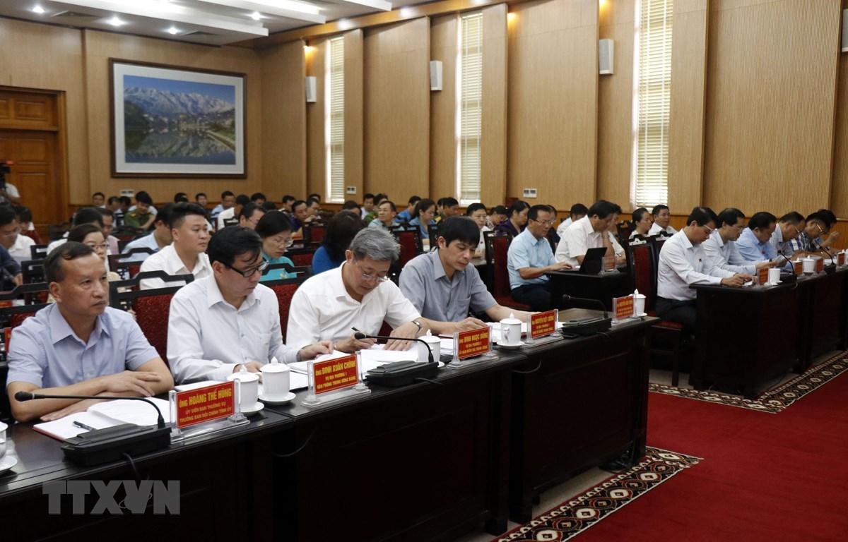 Các đại biểu tham dự kỳ họp. (Ảnh: Quốc Khánh/TTXVN)