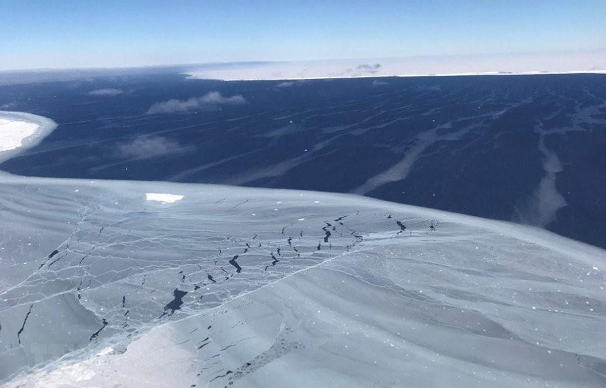 Băng tại Nam Cực. (Ảnh: AFP/ TTXVN)