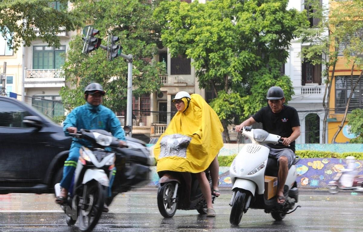 Cả nước mưa nhiều trong tháng Bảy. (Ảnh: Thành Đạt/TTXVN)