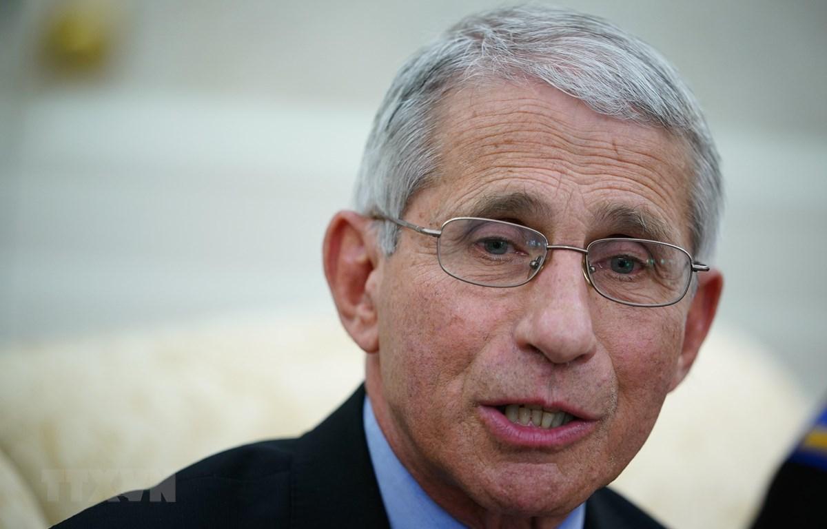 Tiến sĩ Anthony Fauci. (Ảnh: AFP/TTXVN)