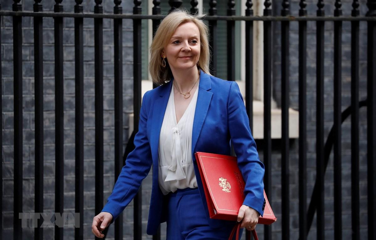 Bộ trưởng Thương mại Anh Liz Truss. Ảnh: TTXVN