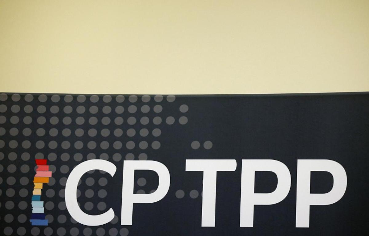 Logo của CPTPP (Nguồn: Reuters)