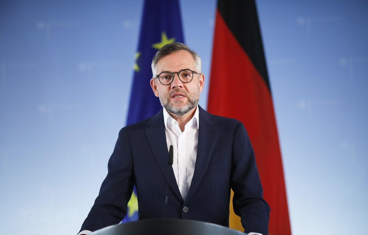 Bộ trưởng phụ trách các vấn đề châu Âu của Đức Michael Roth. (Ảnh: AFP/TTXVN)