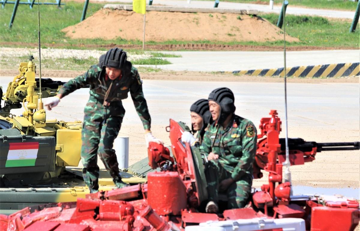 Đội tuyển Việt Nam tại Army Games 2019. (Ảnh Dương Trí/TTXVN)