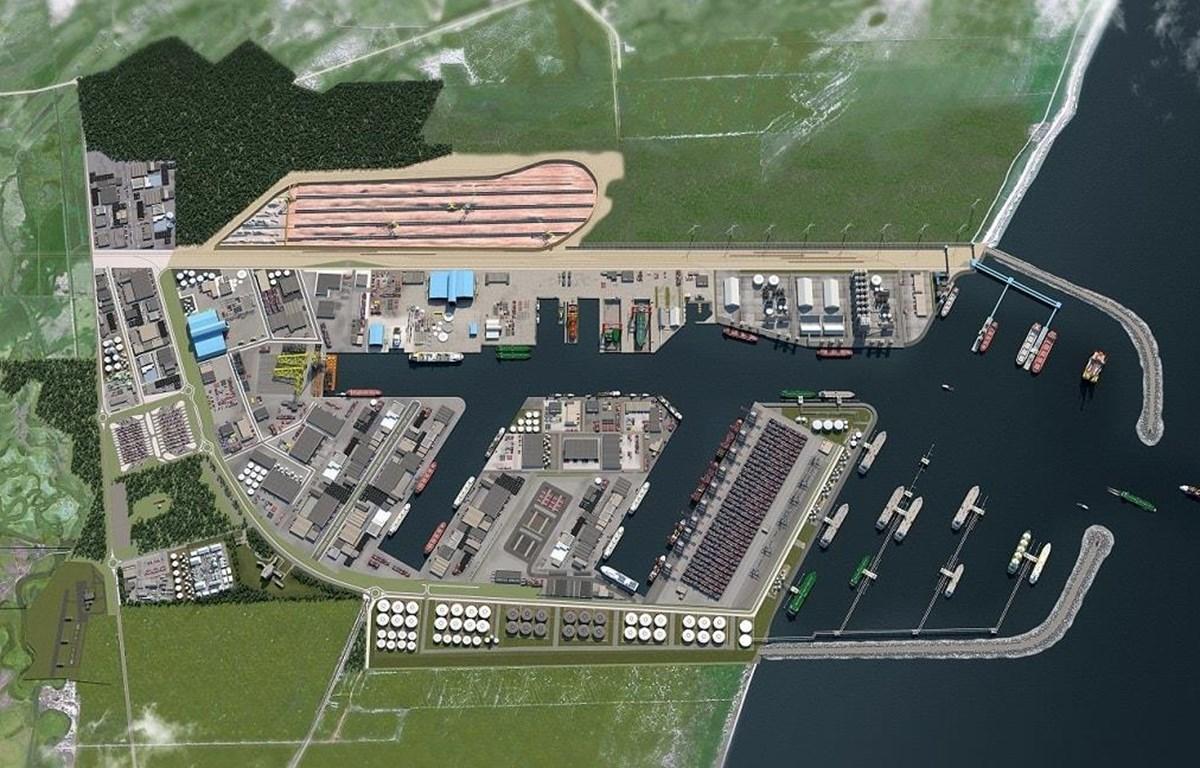 Phối cảnh cảng công nghiệp Porto Central. (Nguồn: portocentral.com.br)