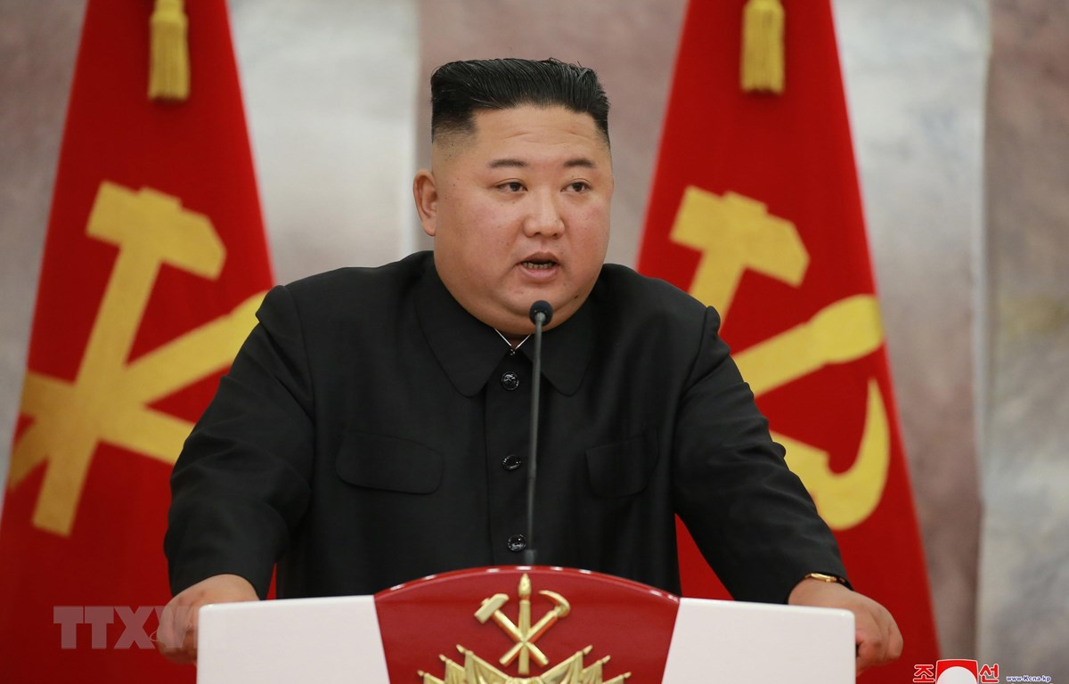 Nhà lãnh đạo Triều Tiên Kim Jong-un. (Ảnh: Yonhap/TTXVN)