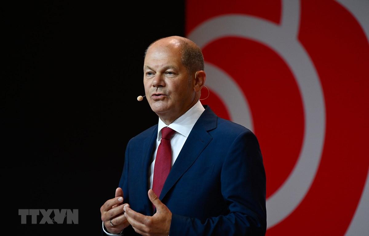Bộ trưởng Tài chính Đức Olaf Scholz. (Ảnh: AFP/TTXVN)