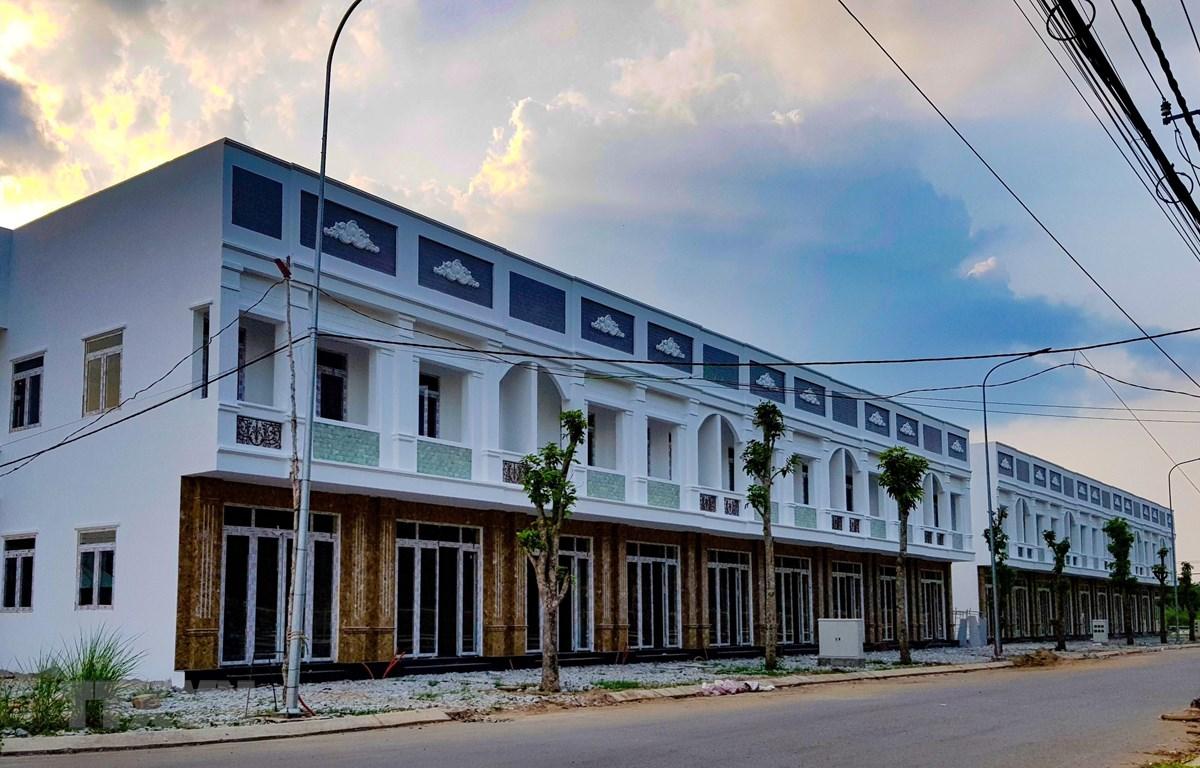 Một góc dự án Khu đô thị mới Thới Lai. (Ảnh: Thanh Liêm/TTXVN)