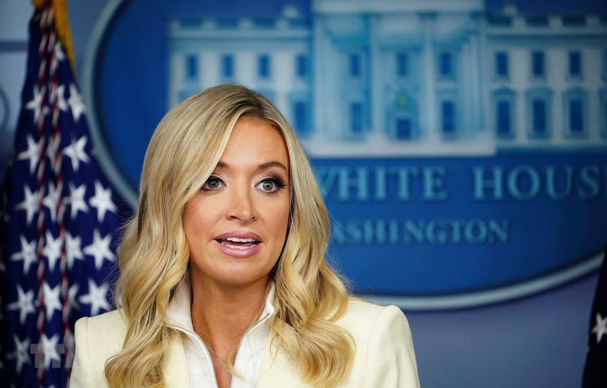 Thư ký báo chí Nhà Trắng Kayleigh McEnany. (Ảnh: AFP/TTXVN)