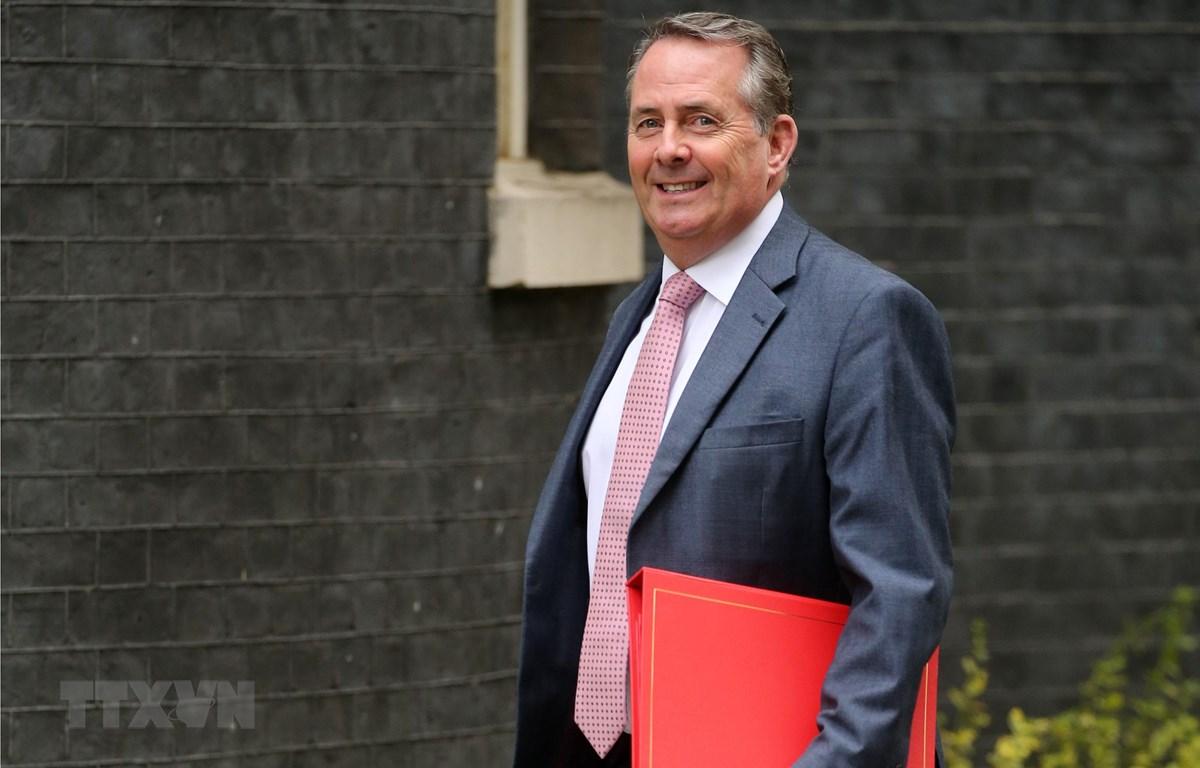 Cựu Bộ trưởng Thương mại Anh Liam Fox - ứng cử vị trí Tổng giám đốc WTO. (Ảnh: AFP/TTXVN)