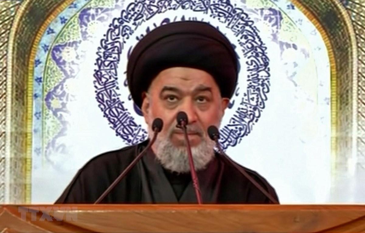 Giáo sỹ hàng đầu dòng Shi'ite ở Iraq Ali Sistani. (Ảnh: AFP/TTXVN)
