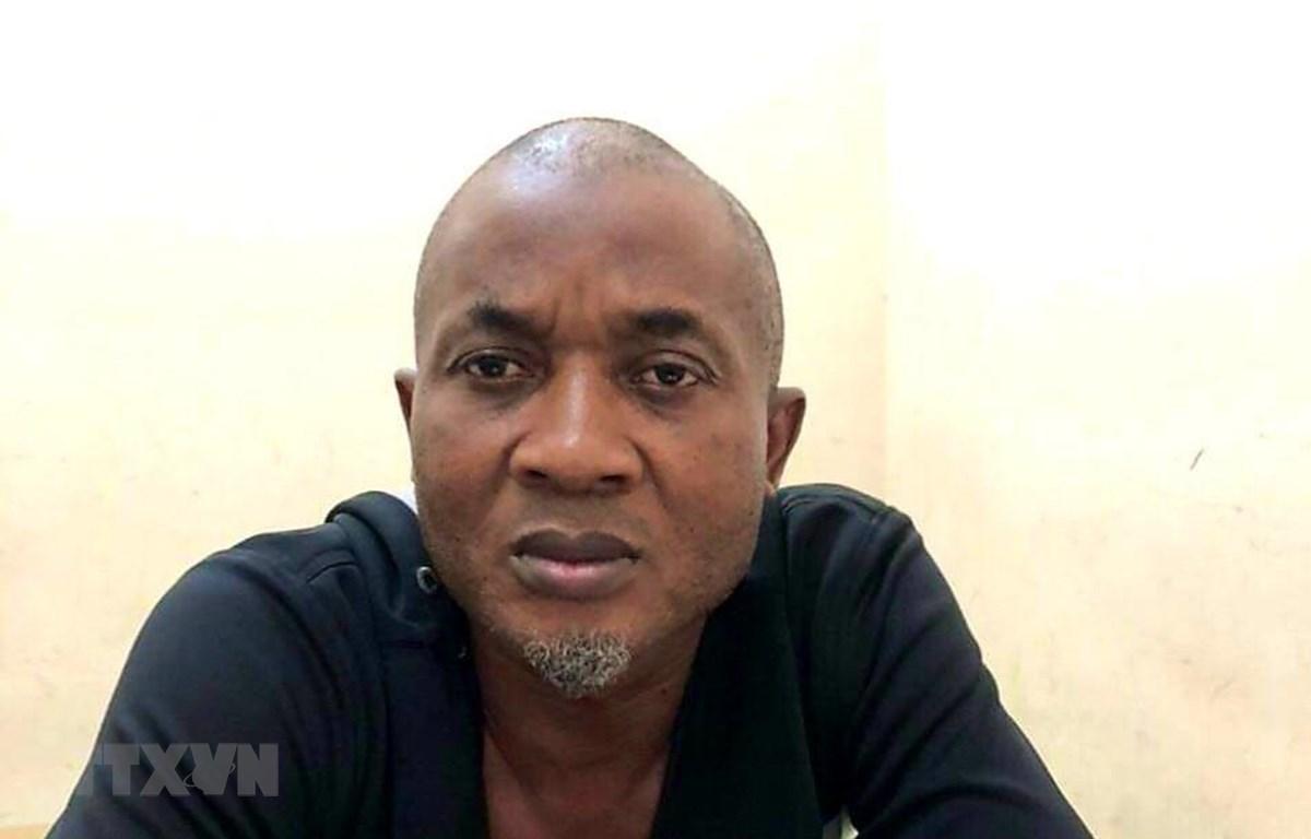 Đối tượng Ochie Paul Ejike (sinh năm 1969, quốc tịch Nigeria). (Ảnh: TTXVN phát)