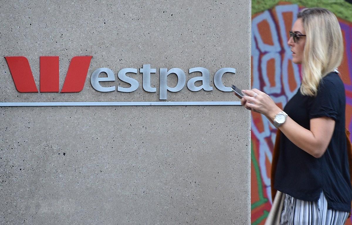 Một chi nhánh của Ngân hàng Westpac ở Sydney, Australia. (Ảnh: AFP/TTXVN)