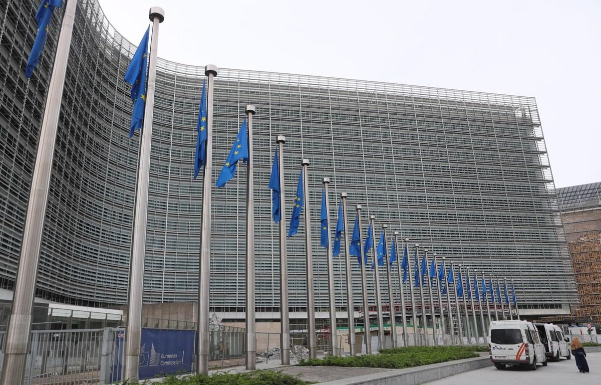 Trụ sở Ủy ban châu Âu tại Brussels, Bỉ. (Ảnh: THX/TTXVN)