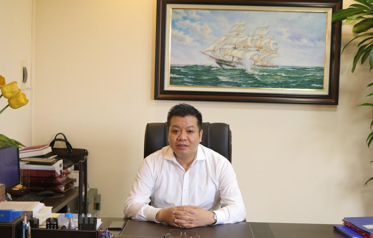 Cục trưởng Cục Quản lý lao động ngoài nước Tống Hoài Nam. (Ảnh: Nhan Huyền/Vietnam+)