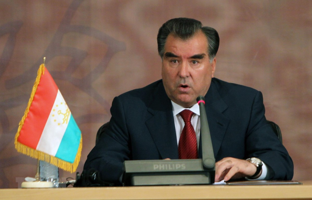 Tổng thống tái đắc cử của Tajikistan, ông Imomali Rakhmon. (Nguồn: AFP/TTXVN)