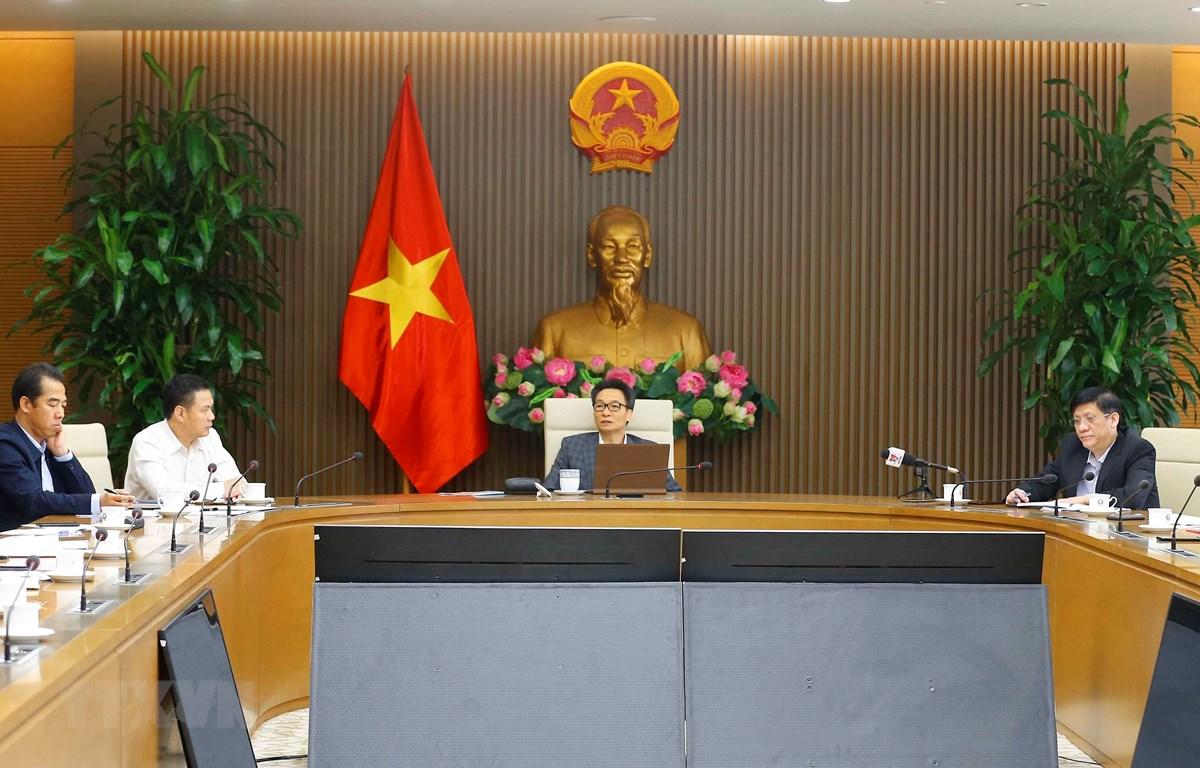 Phó Thủ tướng Vũ Đức Đam phát biểu. (Ảnh: Doãn Tấn/TTXVN)