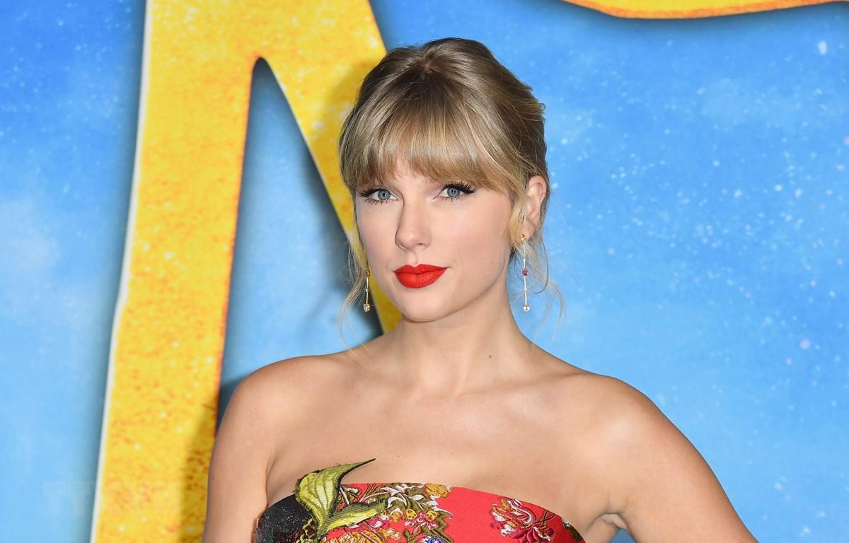Nữ ca sỹ Taylor Swift tại một sự kiện ở New York, Mỹ. (Ảnh: AFP/TTXVN)