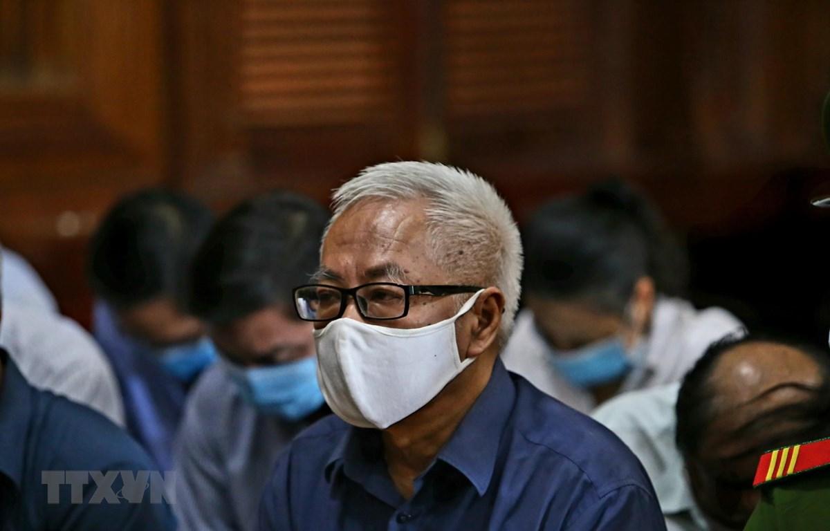 Bị cáo Trần Phương Bình tại phiên tòa ngày 24/11/2020. (Ảnh: Thành Chung/TTXVN)