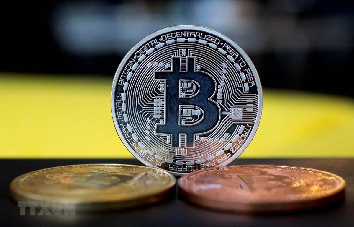 Đồng bitcoin. (Nguồn: AFP/TTXVN)