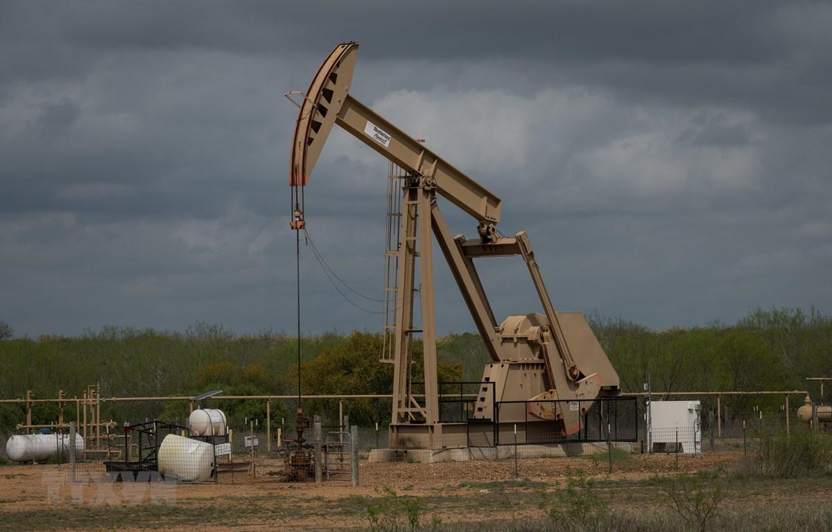 Một cơ sở khai thác dầu tại Cotulla, Texas, Mỹ. (Ảnh: AFP/TTXVN)