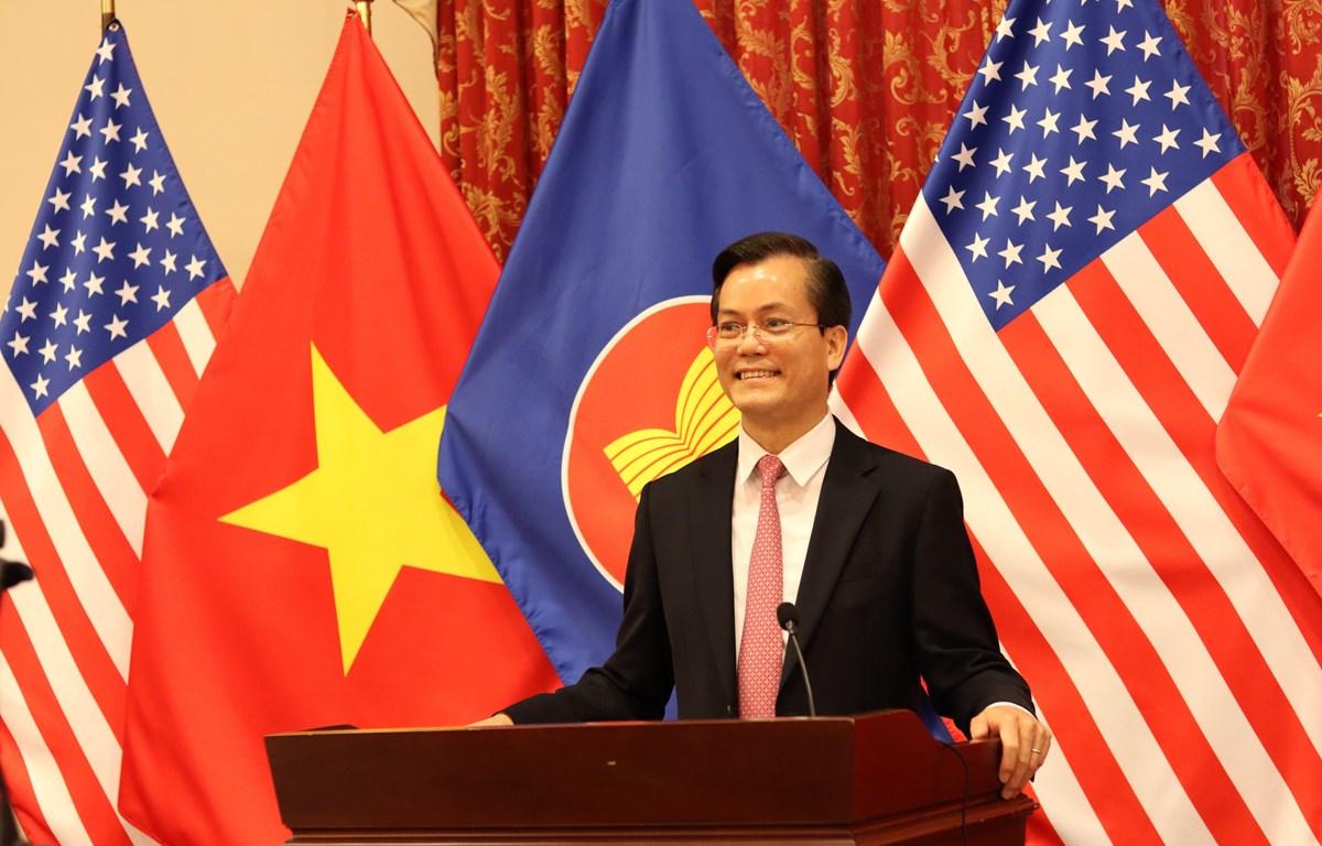 Đại sứ Việt Nam tại Mỹ Hà Kim Ngọc. (Ảnh: Đặng Huyền/TTXVN)
