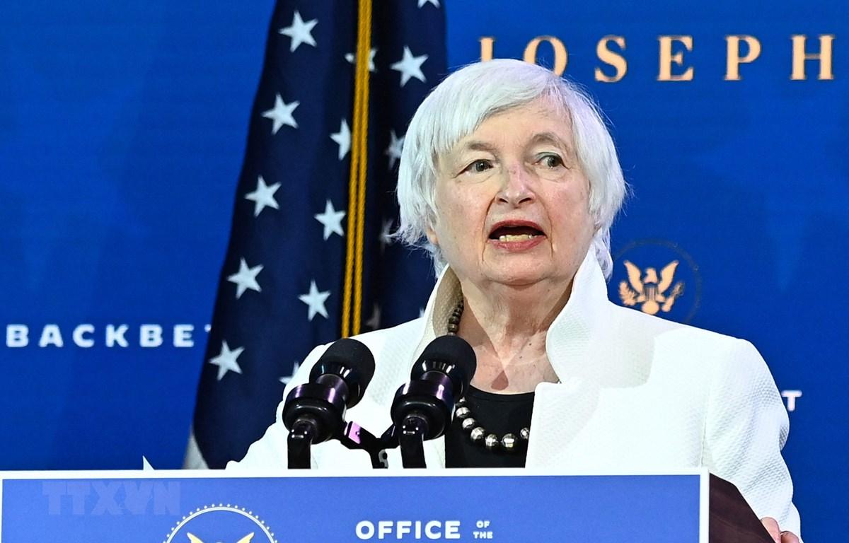 Bộ trưởng Tài chính Mỹ Janet Yellen. (Nguồn: AFP/TTXVN)