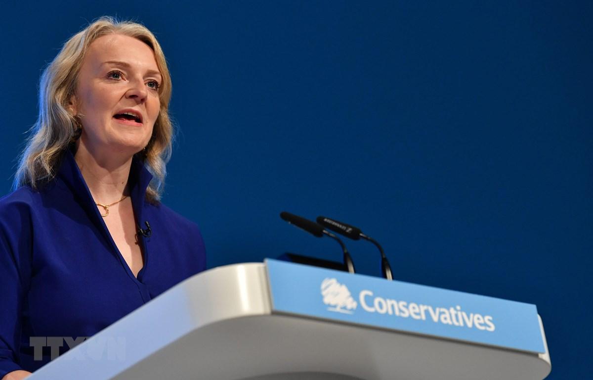 Bộ trưởng Thương mại Quốc tế Anh Liz Truss. (Ảnh: AFP/TTXVN)