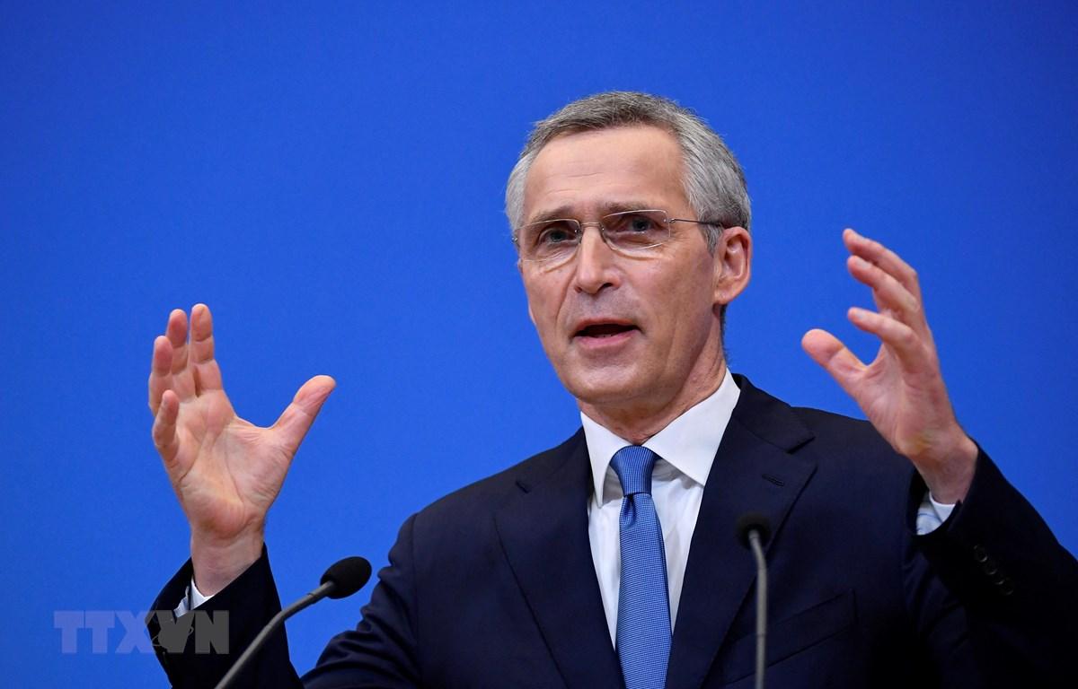 Tổng Thư ký NATO Jens Stoltenberg. (Ảnh: AFP/TTXVN)