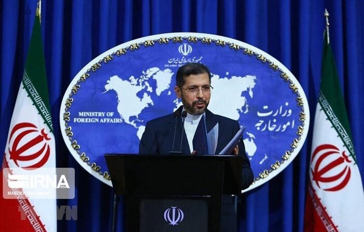 Người phát ngôn Bộ Ngoại giao Iran Saeed Khatibzadeh. (Ảnh: IRNA/TTXVN)