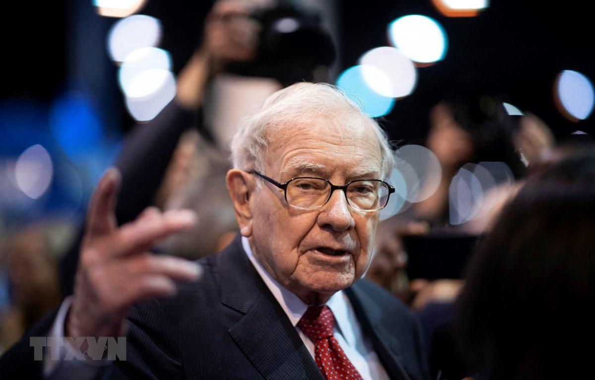 Tỷ phú Warren Buffett. (Ảnh: AFP/TTXVN)