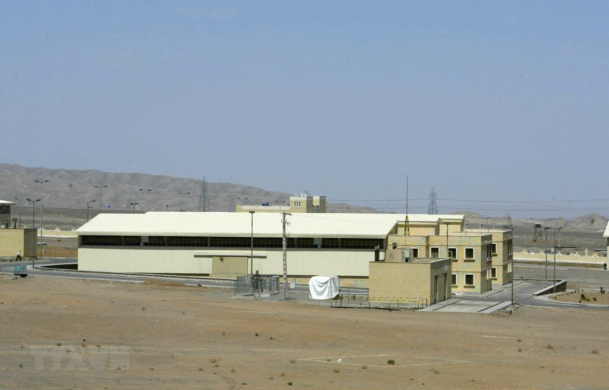 Cơ sở hạt nhân Natanz ở phía Nam thủ đô Tehran, Iran. (Ảnh: AFP/TTXVN)