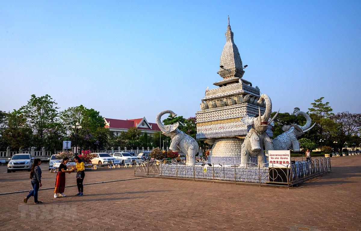 Người dân tại Vientiane, Lào. (Ảnh minh họa: AFP/TTXVN)