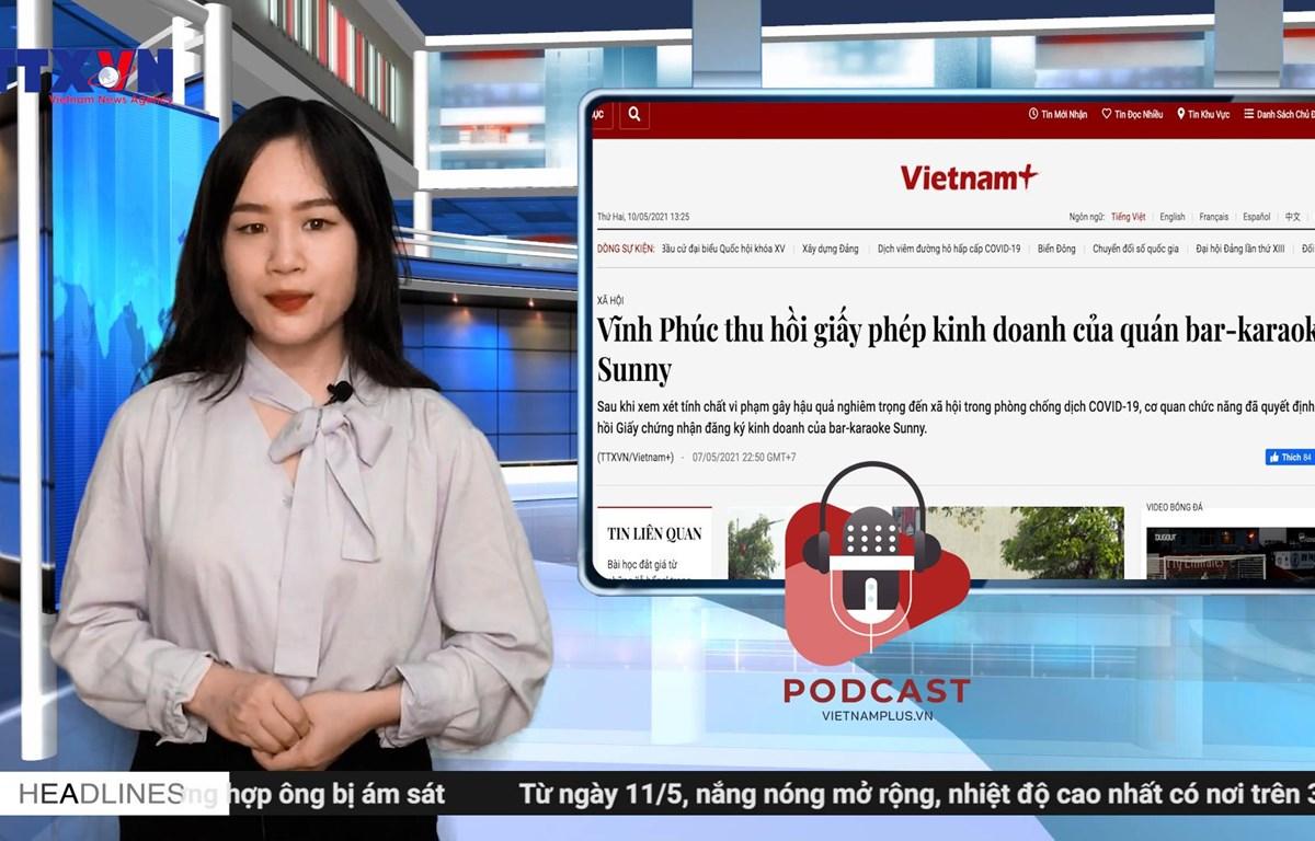 [Audio] Thực hư clip nóng ở quán bar-karaoke Sunny tại Vĩnh Phúc