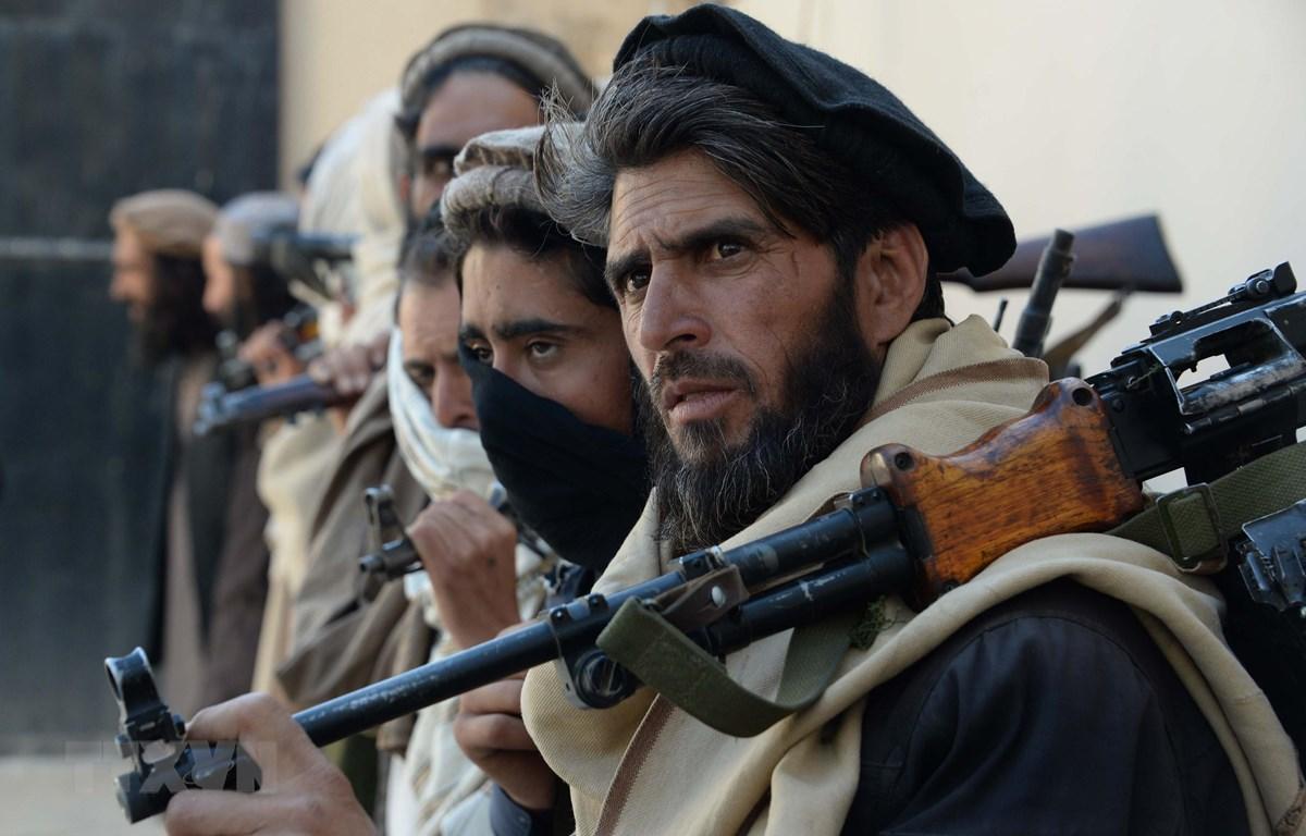 Các tay súng Taliban tại Jalalabad, Afghanistan. (Ảnh: AFP/TTXVN)