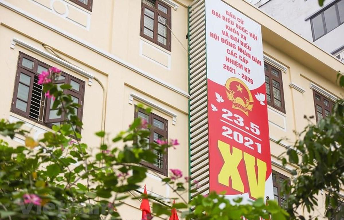 Trong ngày 23/5/2021, cả nước sẽ có 184 đơn vị bầu cử đại biểu Quốc hội khóa XV. (Ảnh Minh Sơn/Vietnam+)