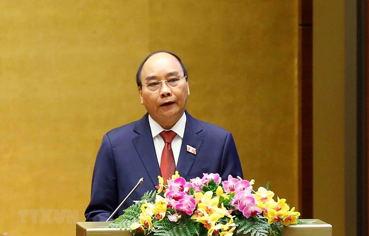 Chủ tịch nước Nguyễn Xuân Phúc. (Ảnh: Doãn Tấn/TTXVN)