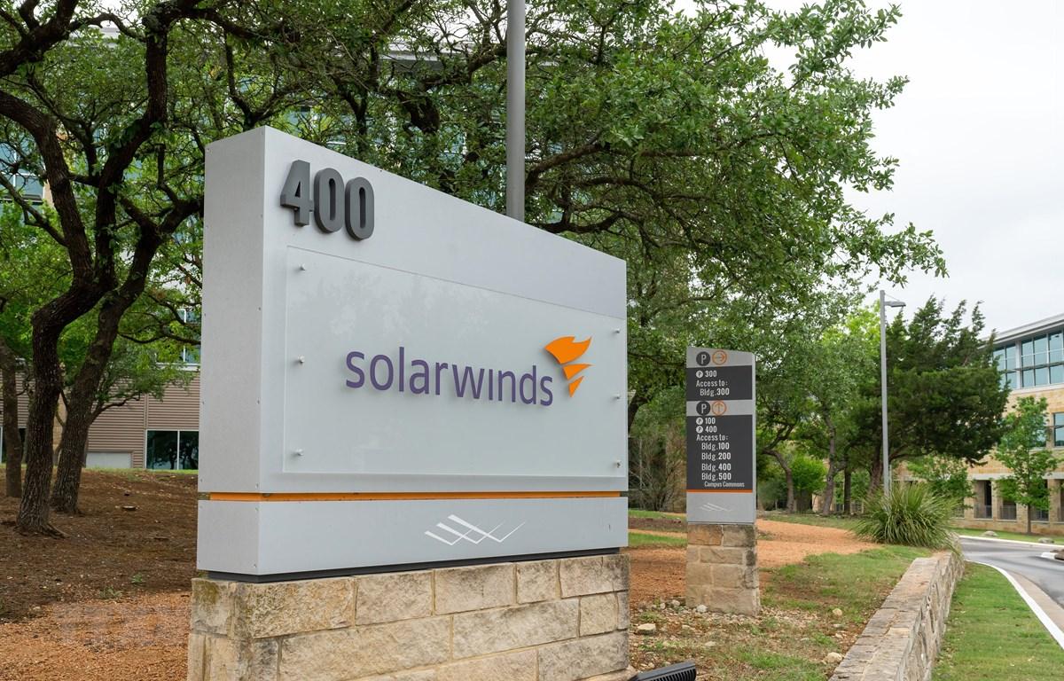 Trụ sở của công ty SolarWinds ở Austin, bang Texas, Mỹ. (Ảnh: AFP/TTXVN)
