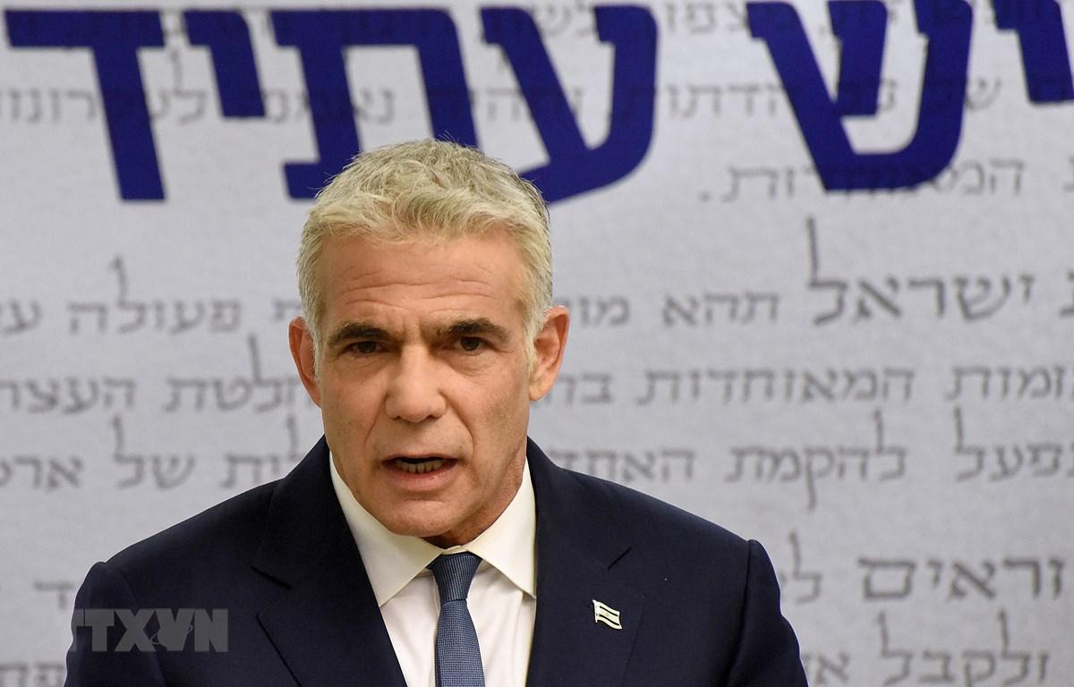 Ngoại trưởng Israel, ông Yair Lapid. (Ảnh: AFP/TTXVN)